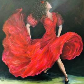 Senorita In Red by Anne Barberi