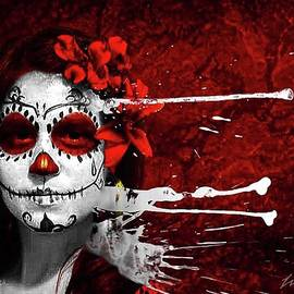 Day of the Dead 5 by DiDi Higginbotham