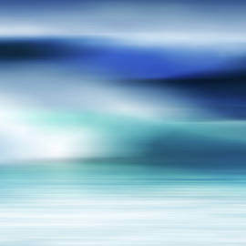 Die Farben des Meeres by Angelika Vogel