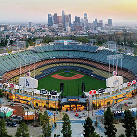 Dodger stadium  by Josh Fuhrman