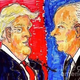 Donald Trump vs Joe Biden 2020 by Geraldine Myszenski