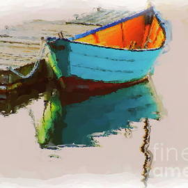Dory at Rest by Ruth H Curtis