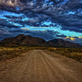 Dragoon Mountains from Middlemarch Road by Gestalt Imagery