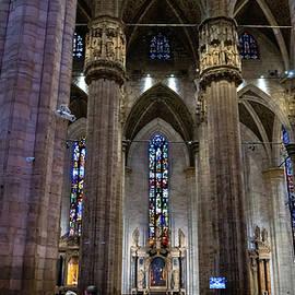 Duomo Milano Interior by Andrew Cottrill