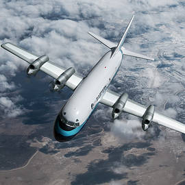 Eastern Airlines Lockheed Electra by Erik Simonsen