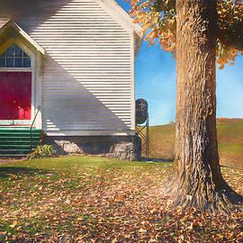 Ebbing Springs Church by Jim Love