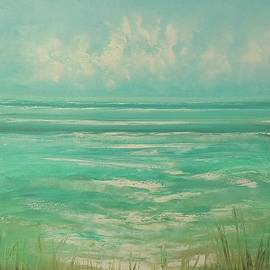 Evening Beach by George Peebles