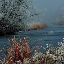 Frosty Canal by Janna Saltmarsh