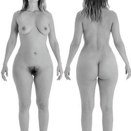 Full Nude Woman All Natural by Jt PhotoDesign