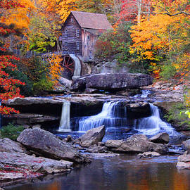 Glade Creek Grist Mill by Michael Rucker