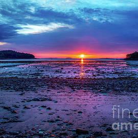 Glen Cove in Mid-Coast Maine at Sunrise by Diane Diederich