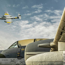 Gloster Meteor tribute scene.