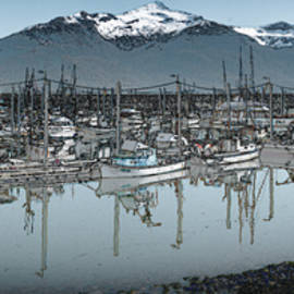 Haines Small Boat Harbour by Richard Smith