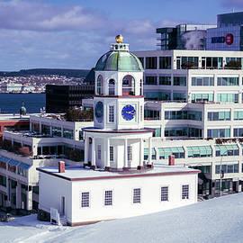 Halifax Town Clock by Ken Morris