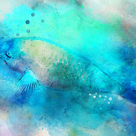 Hawaiian Tropical Fish Watercolor