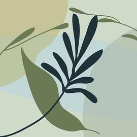 Herb Garden 1 by Nancy Merkle