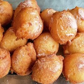 Homemade deep fried Italian ricotta donuts by Joe Vella