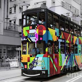Hong Kong Tram  by Tony Camacho