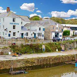 Inner harbour, Charlestown, Cornwall, England by Joe Vella