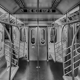 Inside The Empty Subway Train    by Srinivasan Venkatarajan