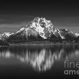 Jackson Lake With Grand Teton Reflection by Christiane Schulze Art And Photography