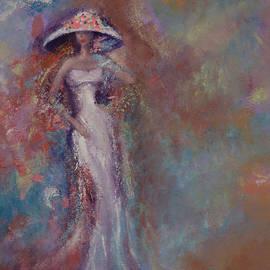 Lady in white by Rasa Us