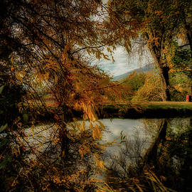 Lake of Burcina by Rita Di Lalla