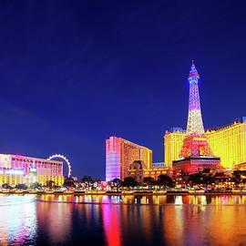 Las Vegas at night by Alex Nikitsin