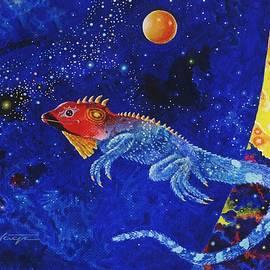 Lizard  by Hartmut Jager