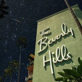 Beverly Hills Hotel and Bungalows by David Zanzinger