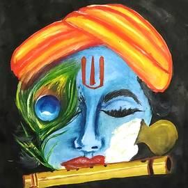 Lord Krishna  by Saravani Arts and crafts