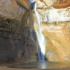 Lower Calf Creek Falls - Utah by Richard Krebs