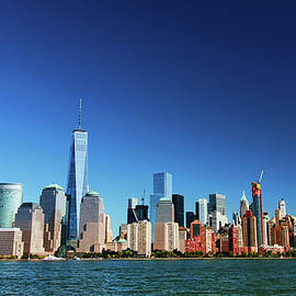 Lower Manhattan Skyline by Allen Beatty