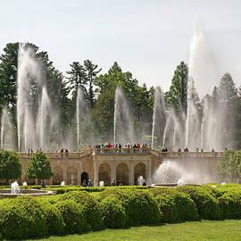 Main Fountain Garden by Sally Weigand