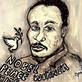 Martin Luther King Jr by Geraldine Myszenski