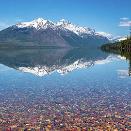 Lake McDonald in Glacier National Park by Matthew Alberts