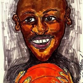 Michael Jordan  by Geraldine Myszenski
