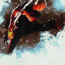 Mike McCready jump on stage by Gunawan RB