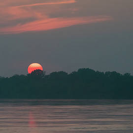 Missouri River Sunset by Steve Ferro