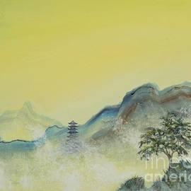Misty Pagoda by Paul Henderson