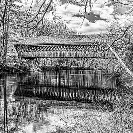 New England College Bridge by Ken Parnell