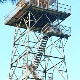 Ocala National Forest Fire Tower by Warren Thompson