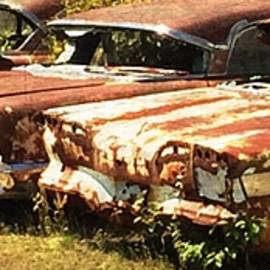 Old Cars by Forrest Fortier