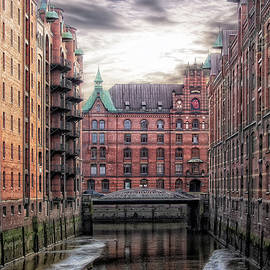 Old Hamburg by Joachim G Pinkawa