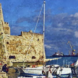 Old Venetian Harbor  by Yorgos Daskalakis