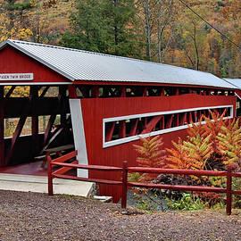 Paden Twin Covered Bridges by Ben Prepelka