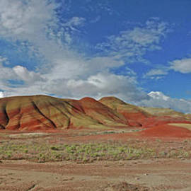 Painted Hills by Gary Wing