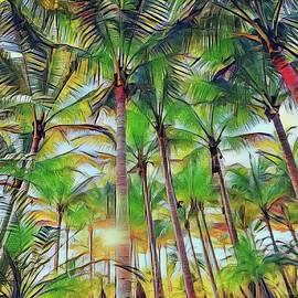 Palm Trees by Diane Kurtz