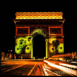 The Arc de Triomphe of the  Etoile. by Cyril Jayant