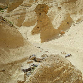 Path through the Tent rocks by Jeff Swan